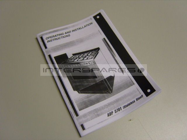 Diplomat Cooker Oven Instruction Manual 01m105