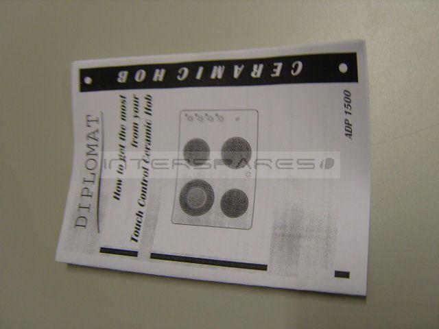 Diplomat Hob Instruction Manual 11001093