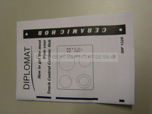 diplomat hob instruction manual insman1520