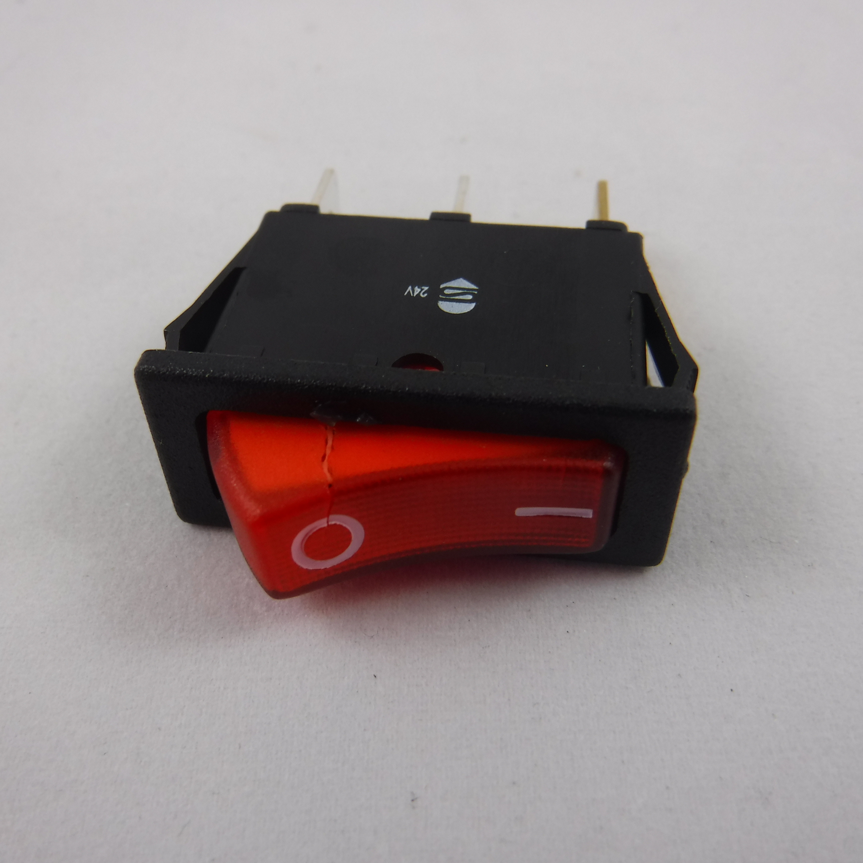 Electrolux Dometic Caravan Fridge 12v 24v Switch Red