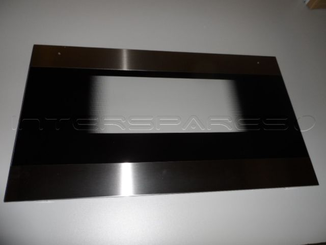 Nardi Cooker Oven Door Glass Outer Black And Steel