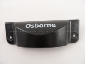 Osborne Fridge And Freezer Door Handle Black 2900han